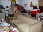 The ghetto Yokoi sofa.