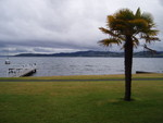 View from our hotel in Taupo